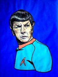 "Leonard Nimoy ""Spock"" 2015"