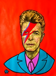 """David Bowie"" 2016"